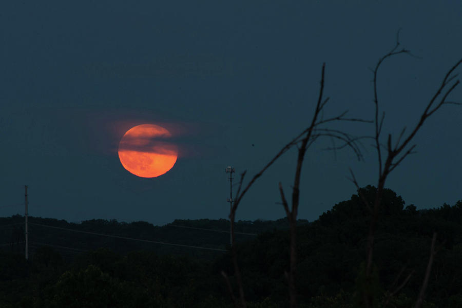 Moon Rise Photograph