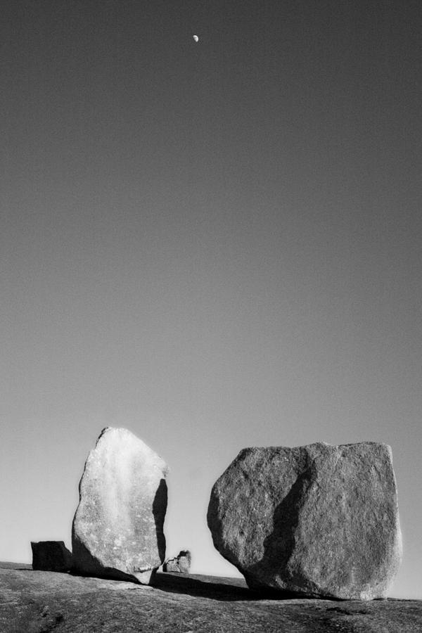 Texas Photograph - Moon Rocks by John Gusky