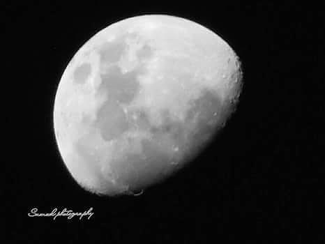 Moon Photograph - Moon by Samuel Olaniyan