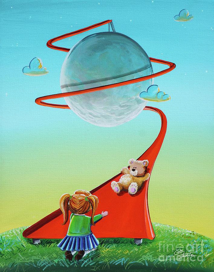 Moon Slide by Cindy Thornton