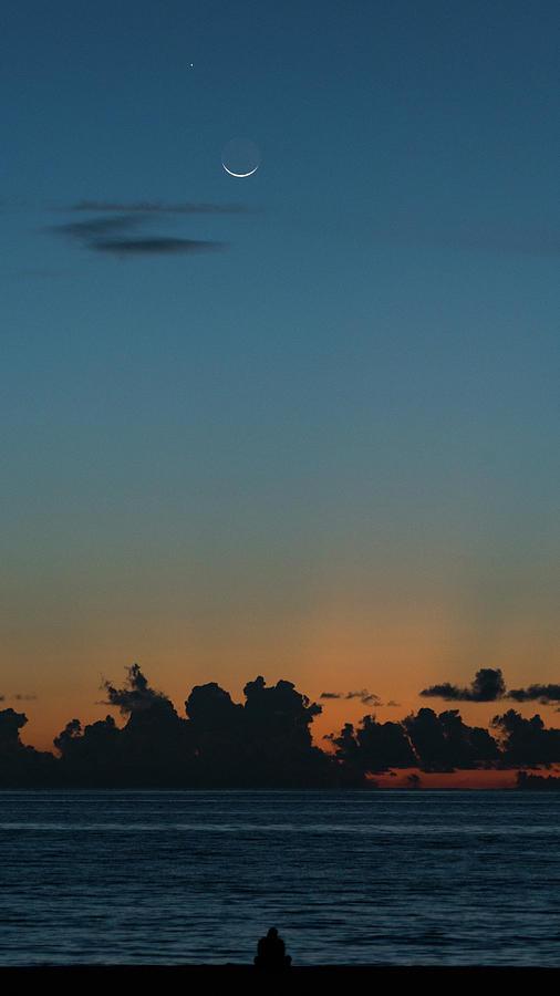 Venus Beach Florida >> Moon Venus Sunrise Delray Beach Florida