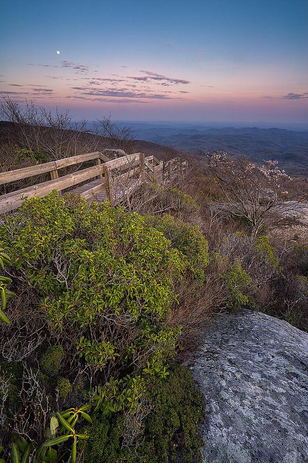 Landscape Photograph - Moon Walk by Jason Penland