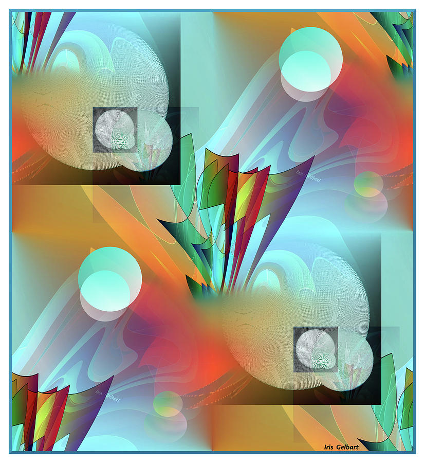 Moonbow 10 Digital Art by Iris Gelbart