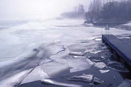 Water Photograph - Mooneys Bay - Ottawa by Catherine Kelly