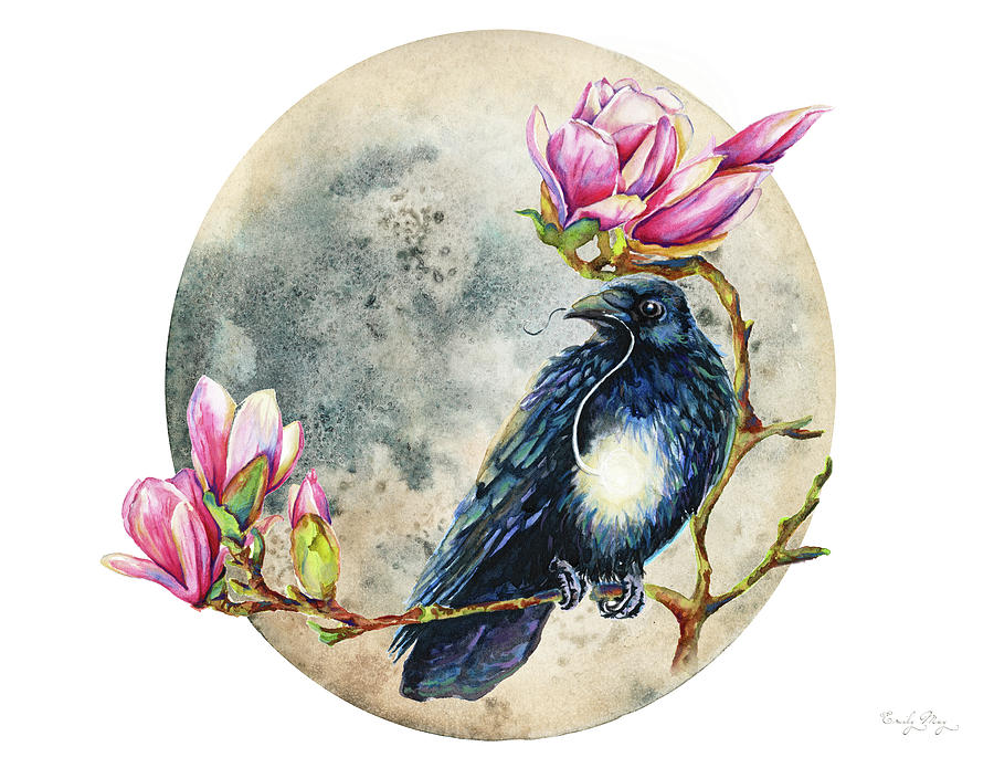 Moonglow and Raven by Emily May Studio Arts