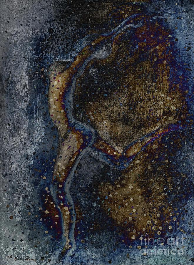 Dancer Painting - Moonlight Dancer by Callan Art