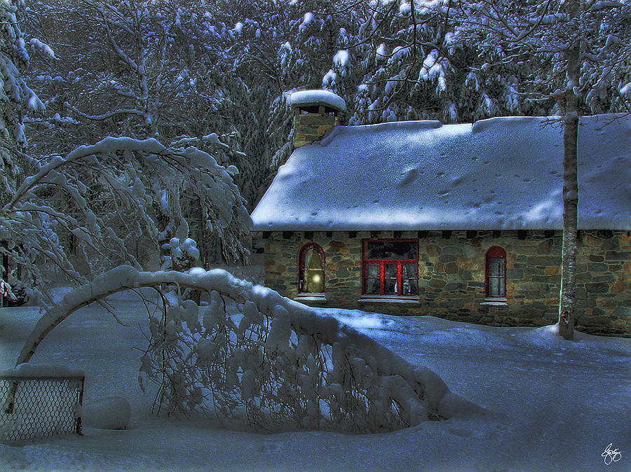 Moonlight on the Stonehouse by Wayne King