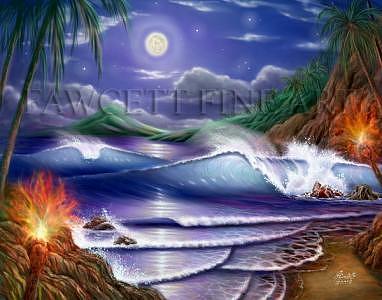 Moonlight Serenade Digital Art by Randy Fawcett