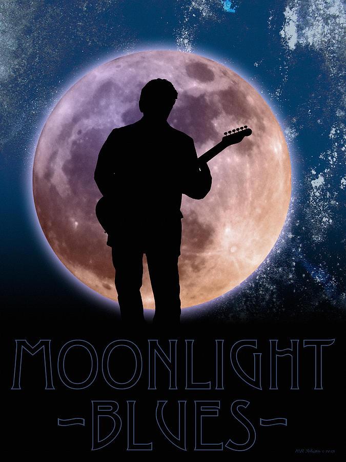 Blues Photograph - Moonlight Serenade by WB Johnston