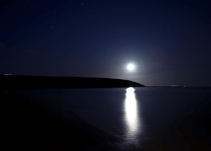 Landscape Photograph - Moonlight by Svetlana Sewell