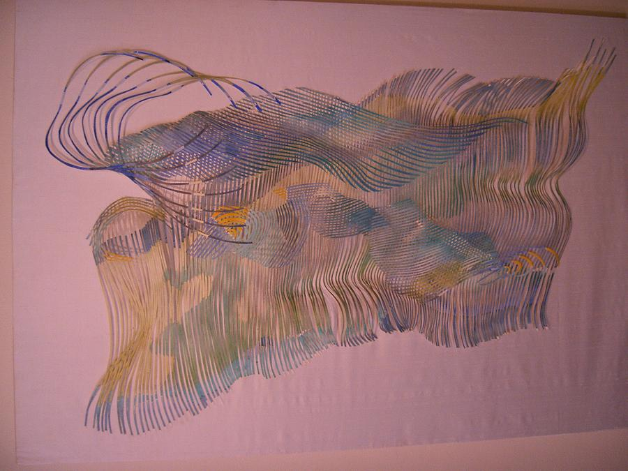 Semi Abstract Sculpture - Moonlight Swim by Stephen Bates