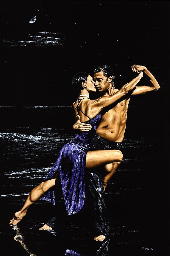 Moonlight Tango Painting