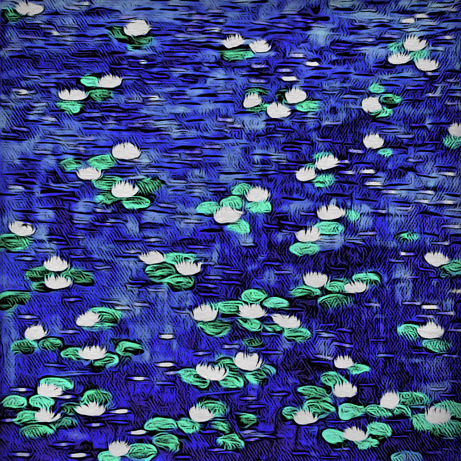 Moonlit Nymphaea by Paisley O'Farrell