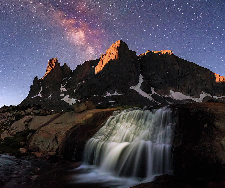 Wyoming Photograph - Moonrise At Cirque Of The Towers. by Johnny Adolphson