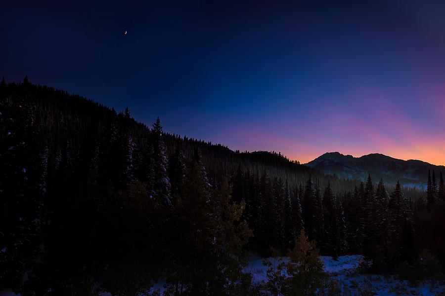 Moonrise over Guardsmans by Dave Koch