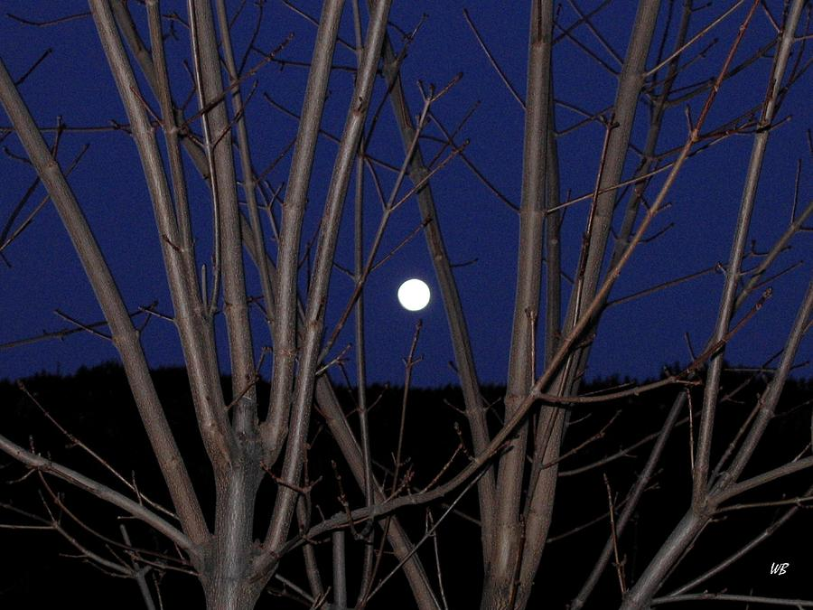 Moon Photograph - Moonrise by Will Borden