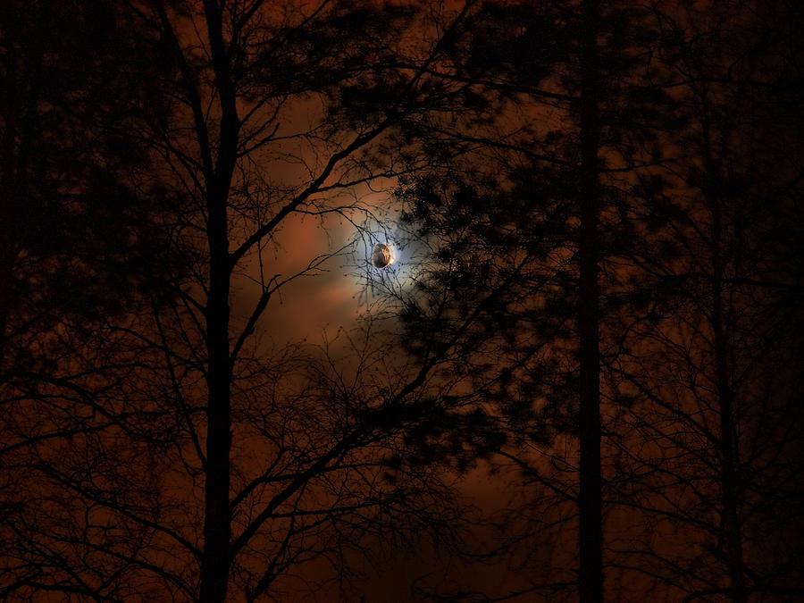 Nokia Photograph - Moonshine 04 Bad Moon Rising by Jouko Lehto