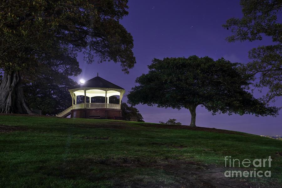Moonshine At Observatory Hill Sydney Photograph
