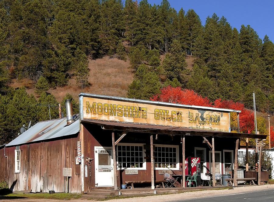 Black Hills Photograph - Moonshine Gulch by Rich Stedman