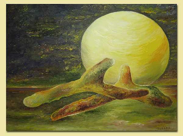 Moonstruck Painting by Karina Ishkhanova