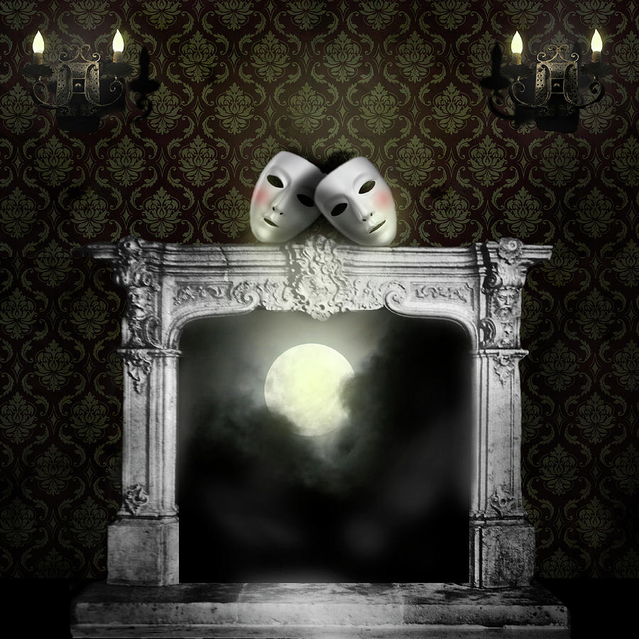 Surrealism Digital Art - Moonstruck by Larry Butterworth