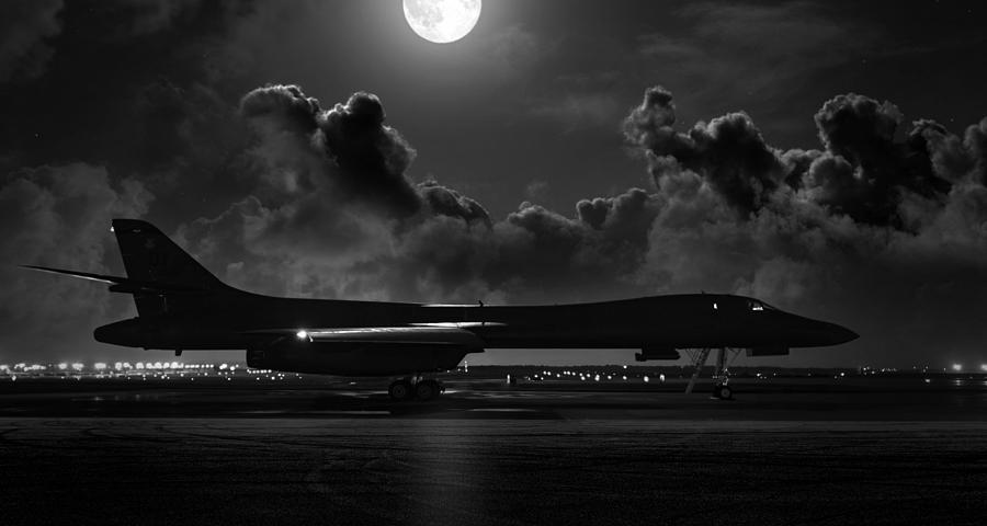Aviation Digital Art - Moonstruck by Peter Chilelli