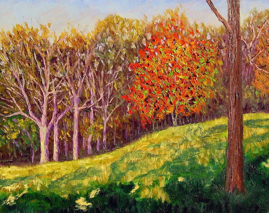 Landscape Painting - Mooresville 10 11 by Stan Hamilton
