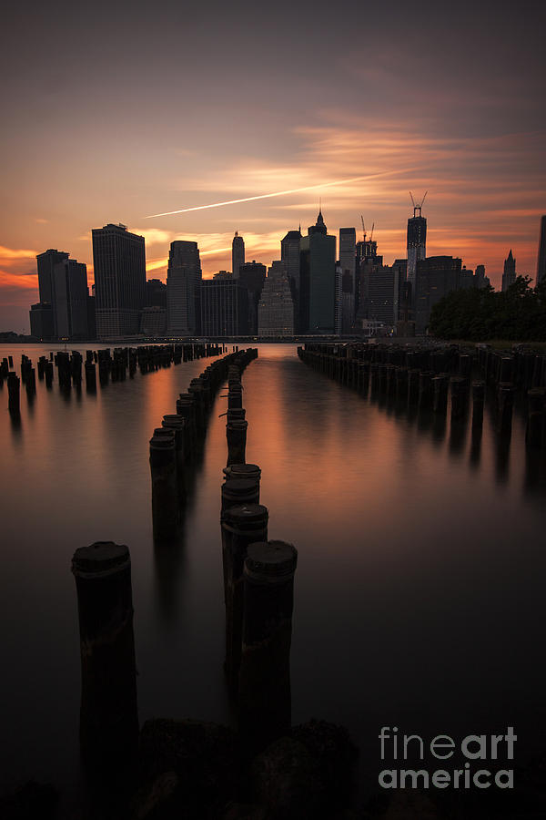 Manhattan Photograph - Mooring Eve by Andrew Paranavitana