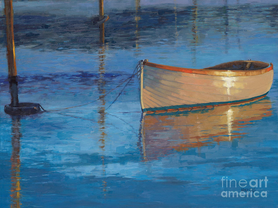 Moored in Light-SOLD by Nancy Parsons