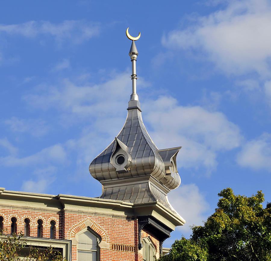 University Of Tampa Photograph - Moorish Minaret by David Lee Thompson