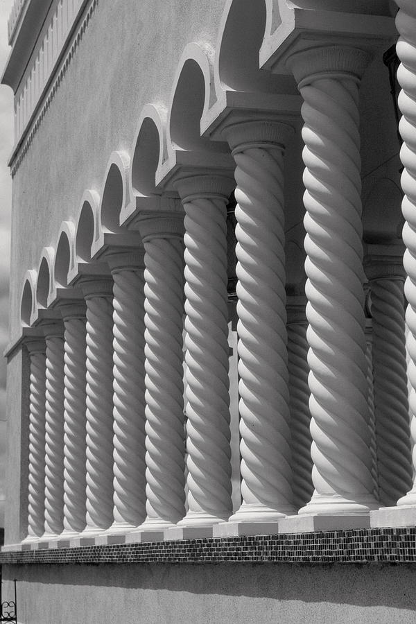 Moorish Photograph - Moorish Pillars Spain by Douglas Pike