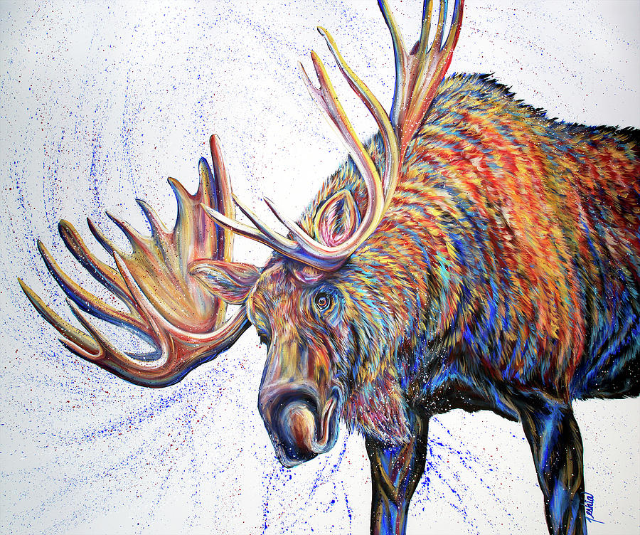 Moose Wallow by Teshia Art
