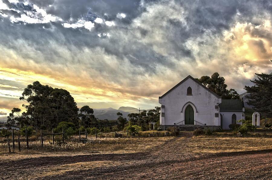 Sunset Photograph - Moravian Sunset by John Clemens