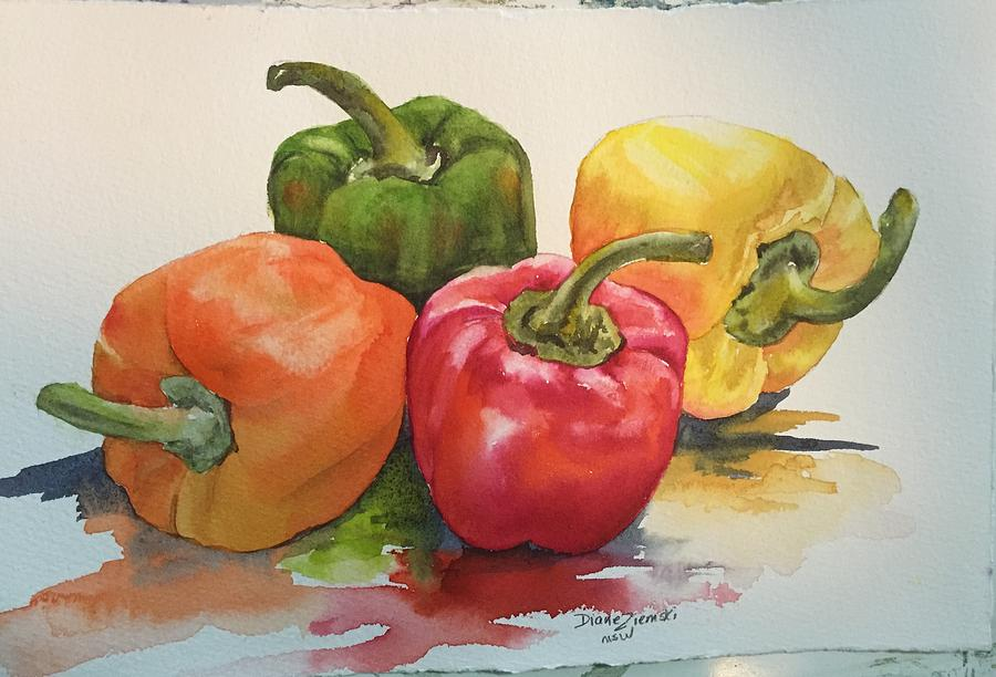 More peppers by Diane Ziemski