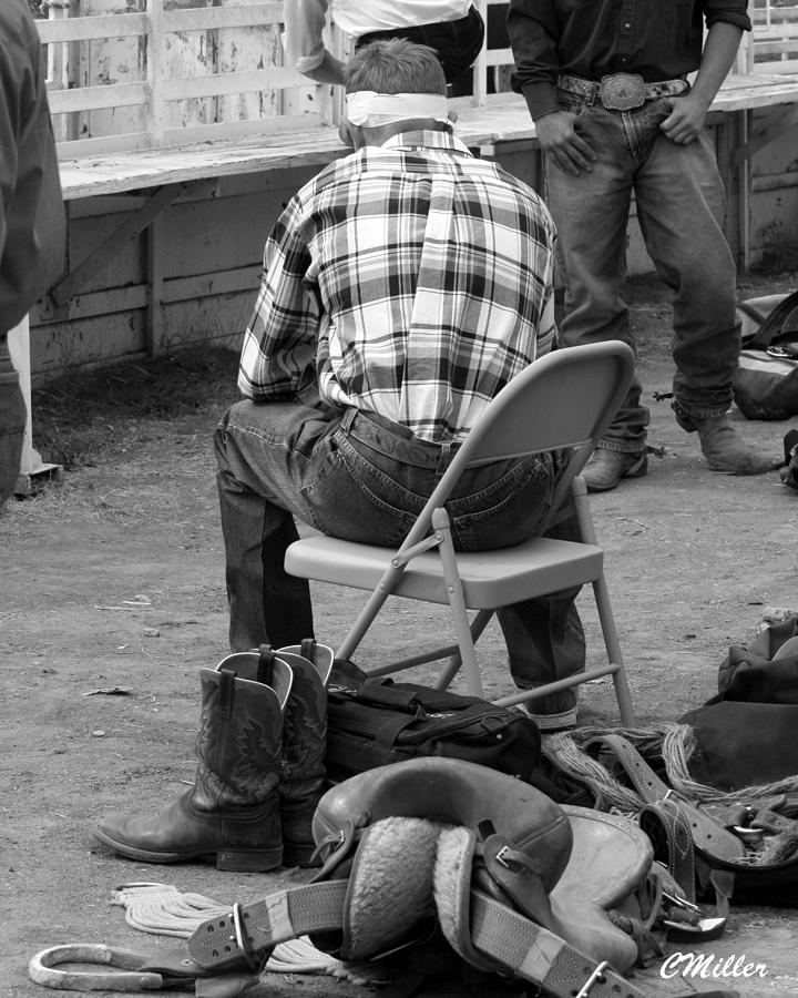 Rodeo Photograph - More Stiches Again.. by Carol Miller