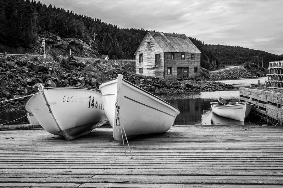 Newfoundland Photograph - Moretons Harbour II by Crystal Fudge