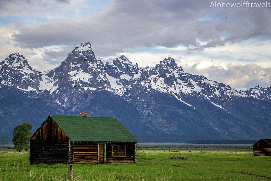 Mormon Row Photograph - Mormon Row Barn by Adriana Wolff
