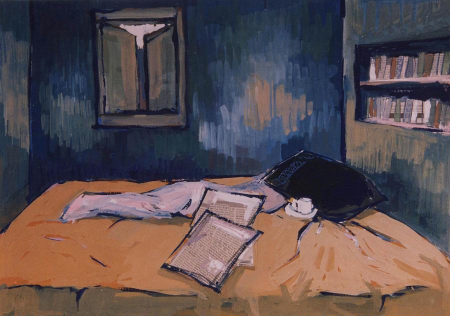 Room Mixed Media - Morning by Arindam Dasgupta