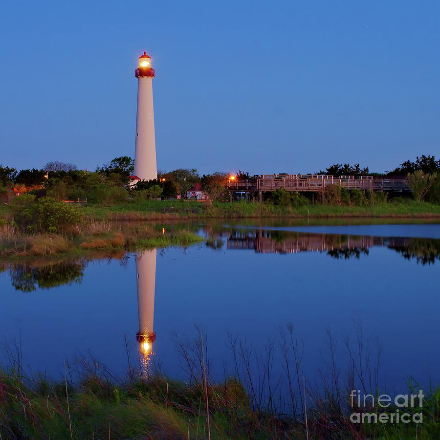 Calendar Cape May Nj : Morning at cape may lighthouse photograph by nick zelinsky