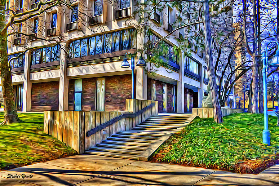 Howard County Digital Art - Morning Before Business by Stephen Younts
