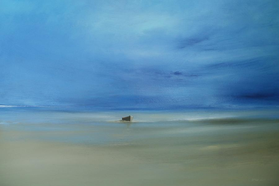Cape Cod Painting - Morning Blues by Michael Marrinan