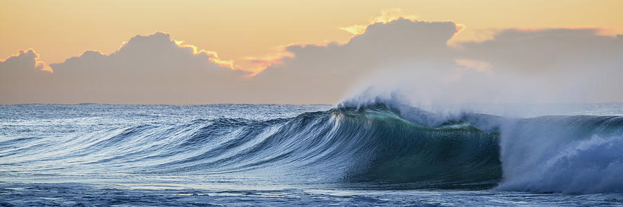 Australia Photograph - Morning Breaks by Az Jackson