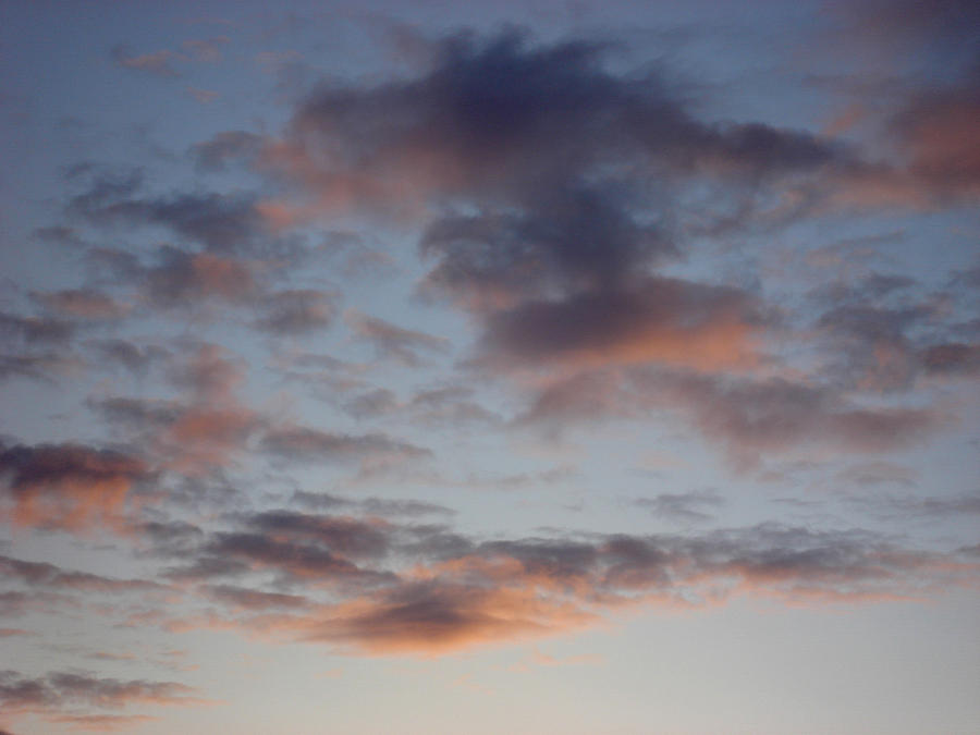 Clouds Photograph - Morning Clouds by Marilynne Bull