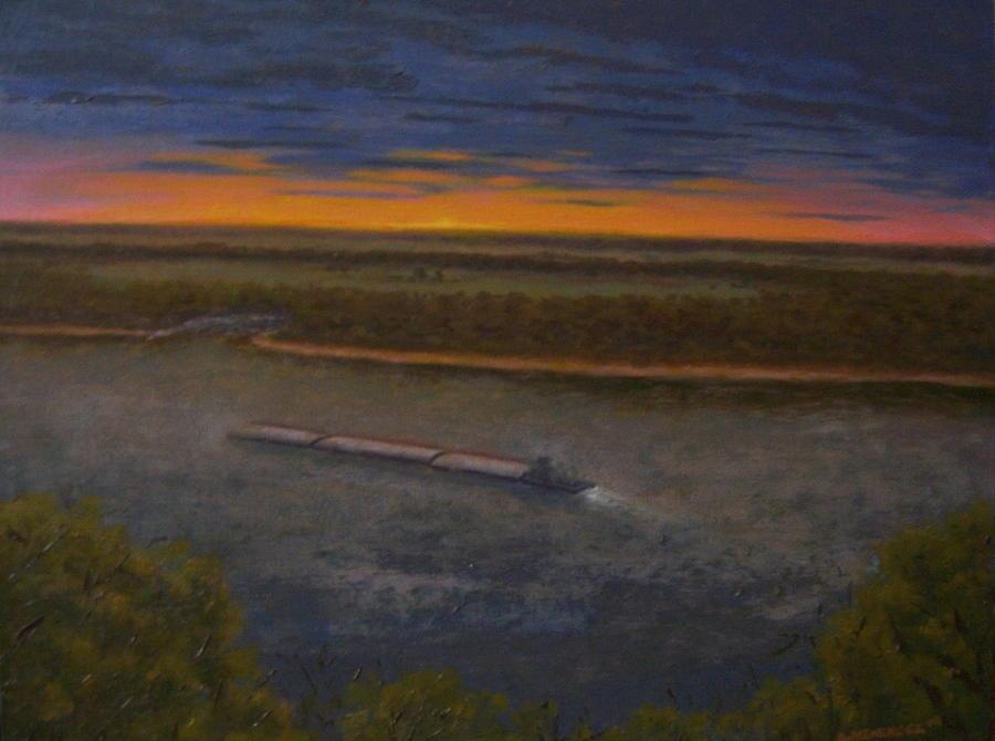 Sunrise Painting - Morning Dew by David Menendez