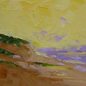 Seaside Painting - Morning Dunes by Don McKillop