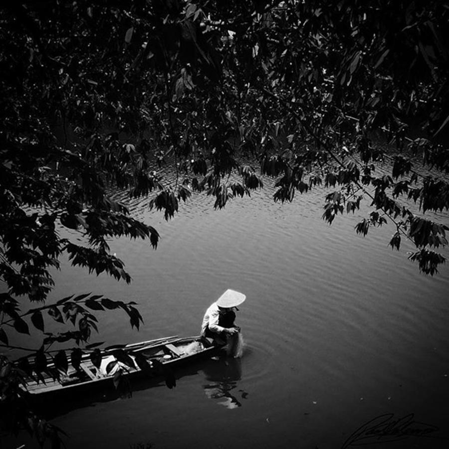 Life Photograph - Morning Fishing Vietnam Photo By by Paul Dal Sasso