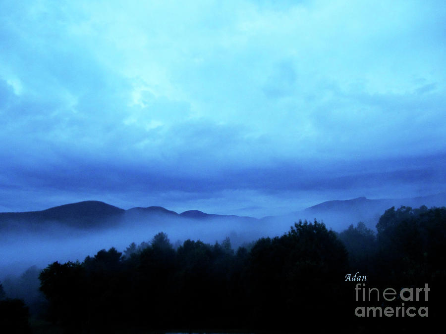 Stowe Vermont Photograph - Morning Fog North by Felipe Adan Lerma