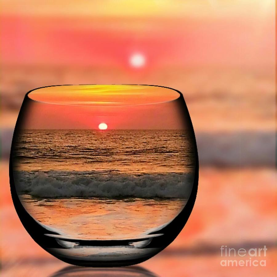 Morning Glass Of Sunrise Photograph By Shera And Bill Fuhrer