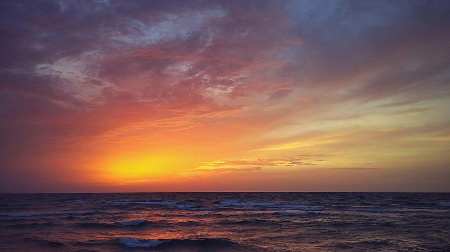 Sunrise Photograph - Morning Glory by Steve Nelson