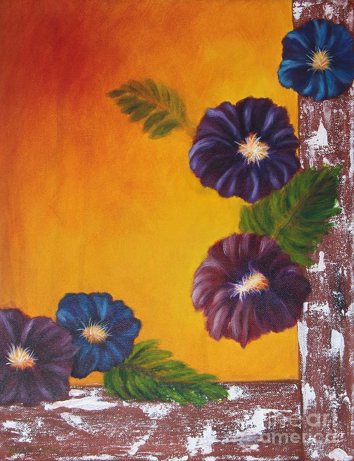 Morning Glory Painting